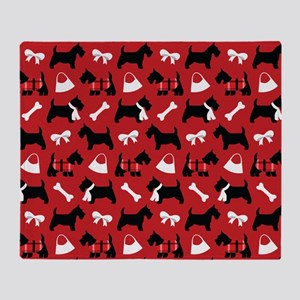 Scottie dog Lover Throw Blanket