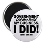 I Did! Magnet