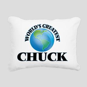 World's Greatest Chuck Rectangular Canvas Pillow