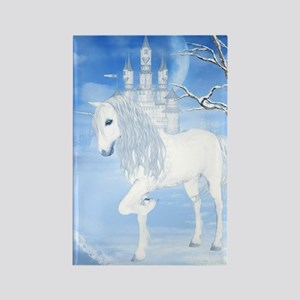The White Unicorn Magnets