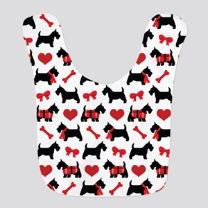 Scottie dog Lover Bib