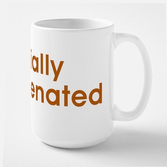 Partially Hydrogenated Large Mug