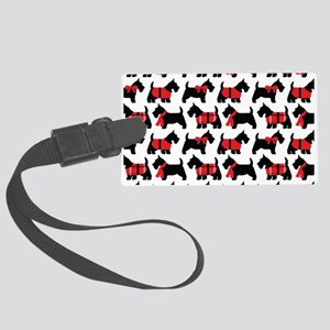 Scottish Terrier lover Large Luggage Tag