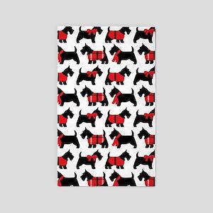 Scottish Terrier lover 3'x5' Area Rug