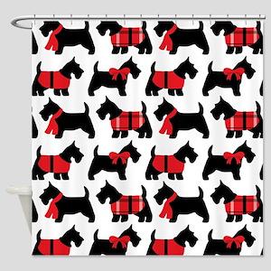 Scottish Terrier lover Shower Curtain