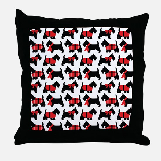 Scottish Terrier lover Throw Pillow