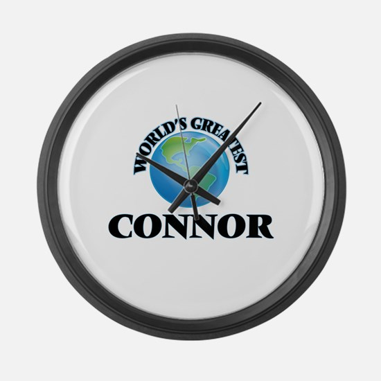 World's Greatest Connor Large Wall Clock