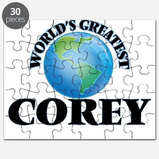 World's Greatest Corey Puzzle