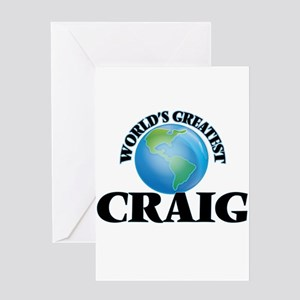 World's Greatest Craig Greeting Cards
