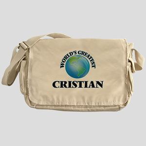 World's Greatest Cristian Messenger Bag