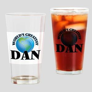 World's Greatest Dan Drinking Glass