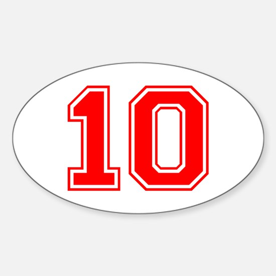 10-var red Decal
