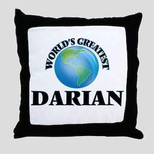 World's Greatest Darian Throw Pillow