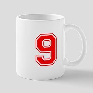 9-var red Mugs