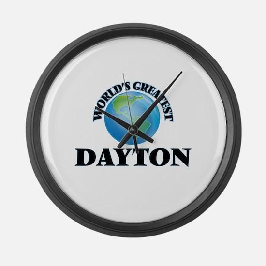 World's Greatest Dayton Large Wall Clock