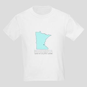 Minnesota . . . Land of 10,00 Kids Light T-Shirt