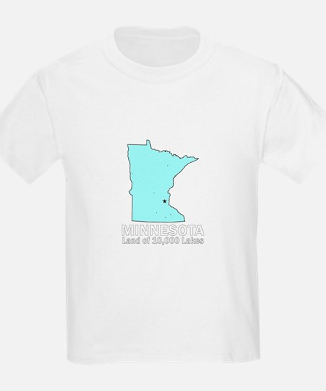 Minnesota . . . Land of 10,00 T-Shirt