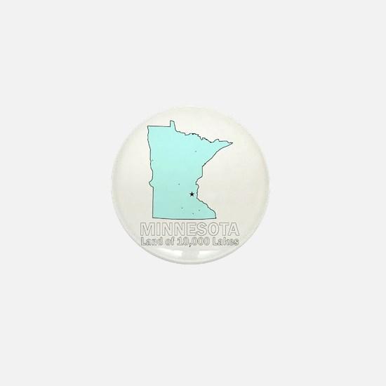 Minnesota . . . Land of 10,00 Mini Button