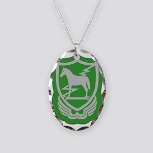 10th Special Forces Group - Eu Necklace Oval Charm