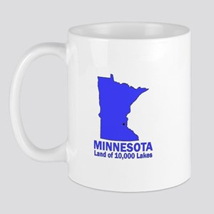 Minnesota . . . Land of 10,00 Mug