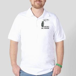 Irritable Owl Syndrome Golf Shirt