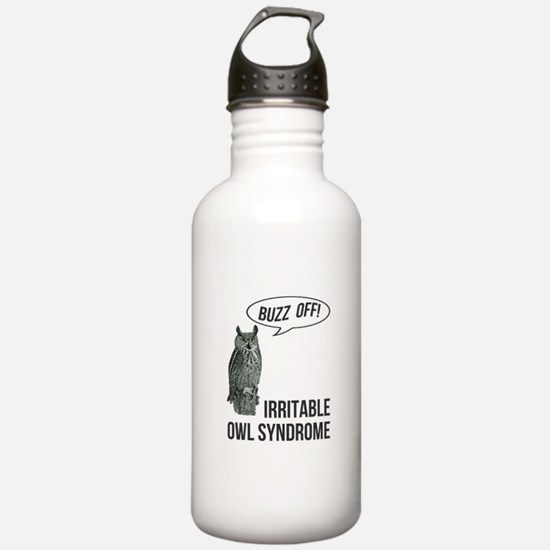 Irritable Owl Syndrome Water Bottle