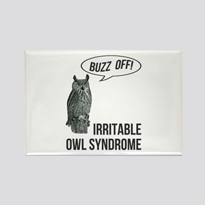 Irritable Owl Syndrome Rectangle Magnet