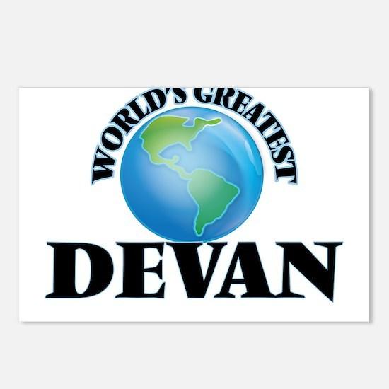 World's Greatest Devan Postcards (Package of 8)