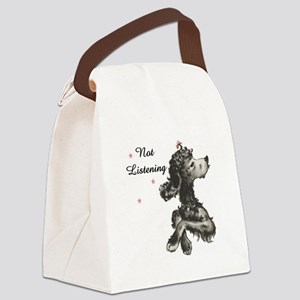 NOT LISTENING Canvas Lunch Bag