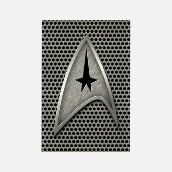 Star Trek Insignia Metal Grill Rectangle Magnet
