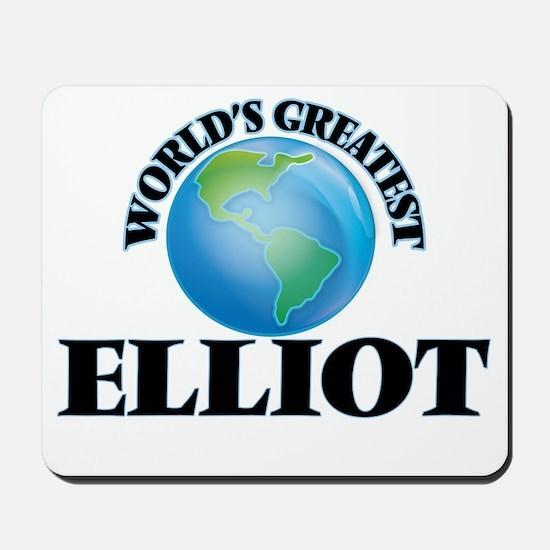 World's Greatest Elliot Mousepad