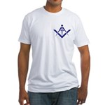 Medical Masons Caduceus Fitted T-Shirt