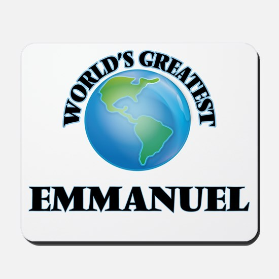 World's Greatest Emmanuel Mousepad
