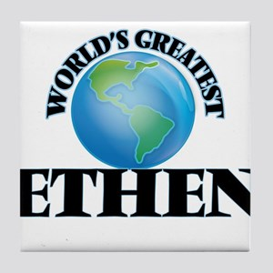 World's Greatest Ethen Tile Coaster