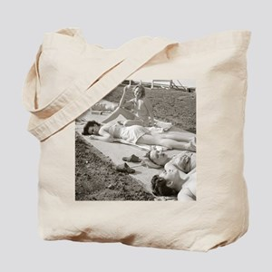 Girls Sunbathing, 1943 Tote Bag