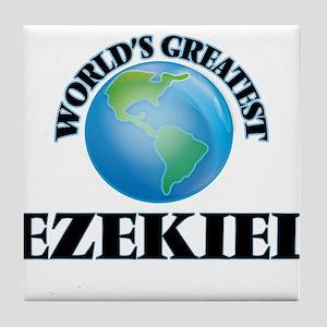 World's Greatest Ezekiel Tile Coaster