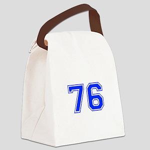 76-var Canvas Lunch Bag