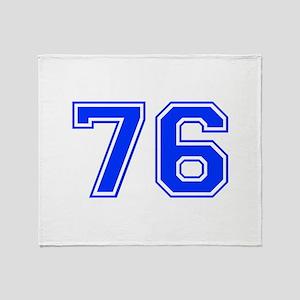 76-var Throw Blanket