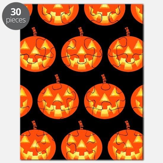 Pumpkin Smile Pattern Puzzle