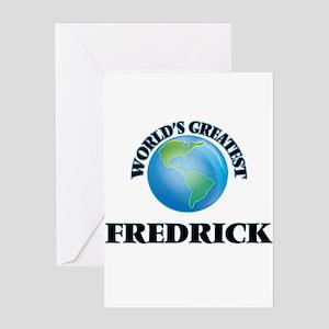 World's Greatest Fredrick Greeting Cards