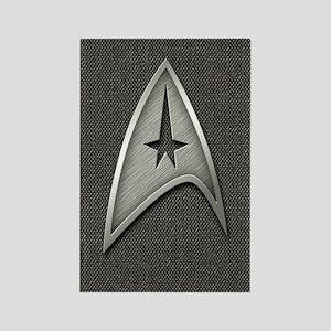 Star Trek Insignia Metal Rectangle Magnet
