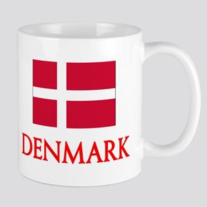 Denmark Flag Design Mugs