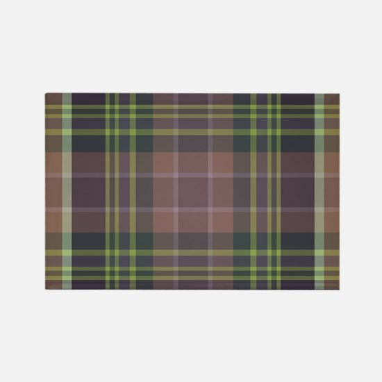 Woodland Plaid Magnets