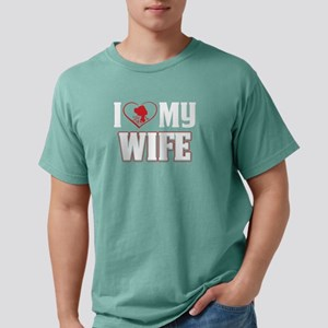 I Love My Wife Gift for Loving Husbands T- T-Shirt