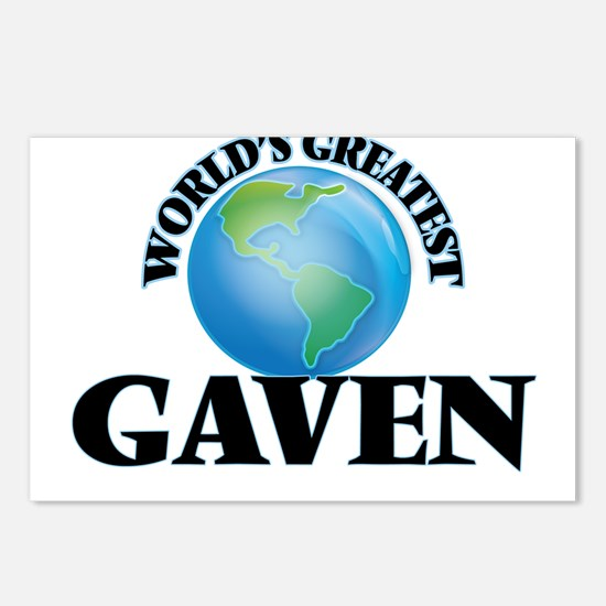 World's Greatest Gaven Postcards (Package of 8)