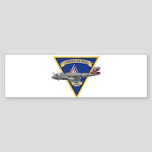 cvw5logoVAQ136 Bumper Sticker