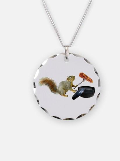 Squirrel BBQ Necklace