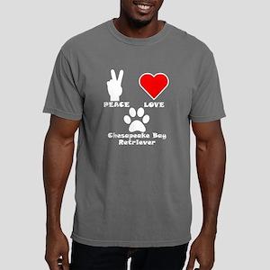 Peace Love Chesapeake Bay Retriever T-Shirt
