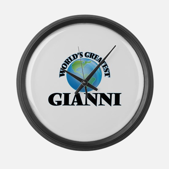 World's Greatest Gianni Large Wall Clock