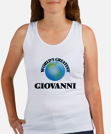 World's Greatest Giovanni Tank Top